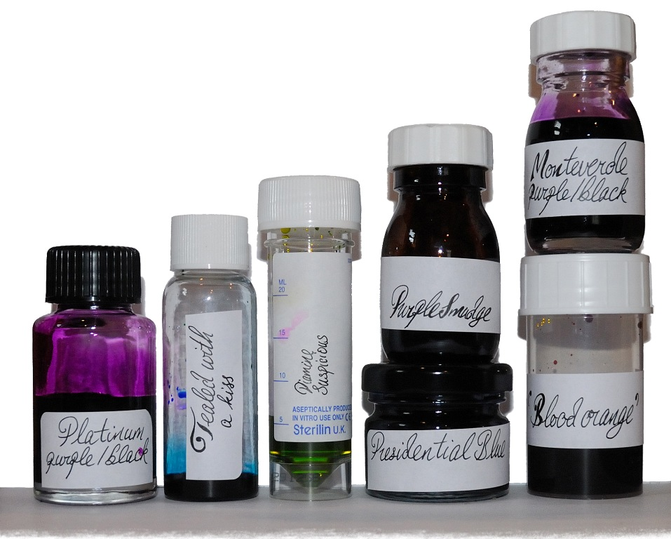 Alternative ink bottles